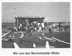 Modellflug in den 80er Jahren