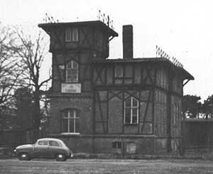 Vereinshaus des LSC Condor 1953 in Ruhleben