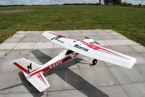 Multiplex Mentor / 160 cm Spannweite / geflogen mit 4s / F-Schlepp