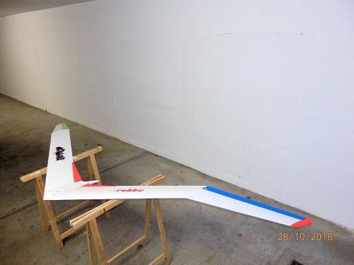 Nurflügler Vampir von Robbe mit 3,17m